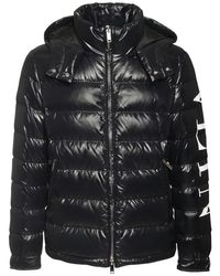 メンズ Valentino ナイロンダウンジャケット Black