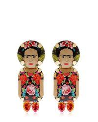 Bijoux De Famille - Multicolor Frida Pendant Earrings - Lyst