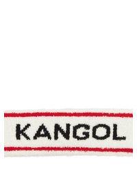 メンズ Kangol Bermuda ヘッドバンド White