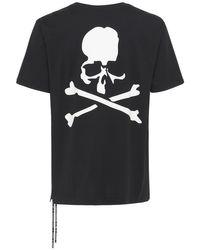 メンズ MASTERMIND WORLD カラーコットンtシャツ Black