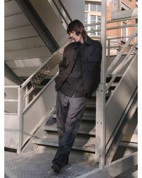 メンズ Lemaire ウールブレンドパンツ 23cm Gray