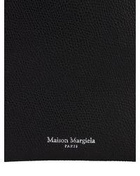 Leather Smart Phone Case W/strap Maison Margiela для него, цвет: Black