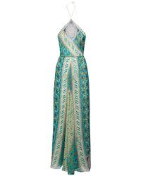 Etro シルクジョーゼットドレス Multicolor
