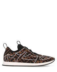 Кроссовки Из Неопрена 20мм Fendi, цвет: Black