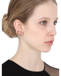 Dauphin - Pink 3 Strands Earrings - Lyst