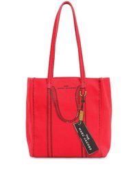 Marc Jacobs Red 'The Trompe L'Oeil Tag' Shopper