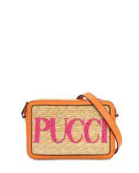 Emilio Pucci Multicolor Umhängetasche mit Logo