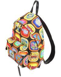 Moschino Troll マルチカラープリント バックパック Multicolor