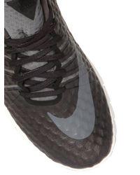 Nike Black Free Hypervenom Mid Top Sneakers