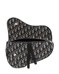 Petit Sac Bandoulière En Toile Avec Boucle Dior Homme pour homme en coloris Black