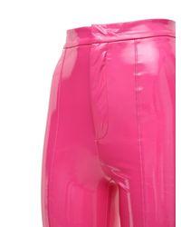 ROTATE BIRGER CHRISTENSEN Jewel ビニールスリムパンツ Pink