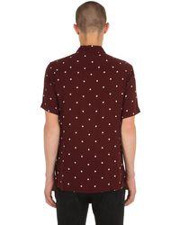 """AllSaints - Red Hemd Mit Punktdruck """"kuta"""" for Men - Lyst"""
