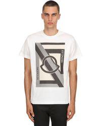 """Moncler Genius T-shirt Aus Baumwolljersey """"craig Green"""" in White für Herren"""
