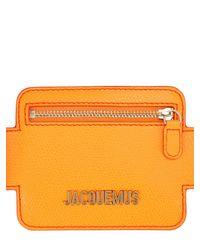 Jacquemus Le Porte Ceinture レザーベルト 40mm Orange