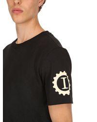 Camiseta De Jersey De Algodón Garage Italia Custom Hydrogen de hombre de color Black