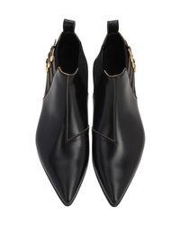 Кожаные Ботинки 20мм Gucci для него, цвет: Black