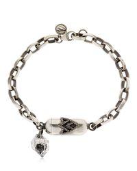 Jade Jagger - Metallic Sterling Silver Charm Bracelet - Lyst