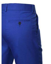 The Kooples - Blue Cool Wool Tuxedo Pants for Men - Lyst