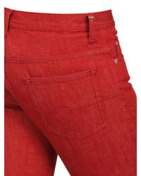 Dior Homme - Red 19cm Regal Drill Jeans for Men - Lyst