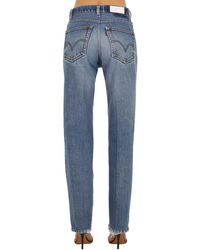 Jeans In Denim Destroyed di Re/done in Blue