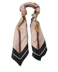 Bracelet Foulard En Twill De Soie Balenciaga en coloris Multicolor