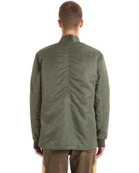 Maharishi Green Ma65 Nylon Kimono Jacket for men