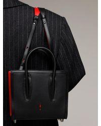 "Christian Louboutin Black Mini Handtasche Aus Leder ""paloma"""