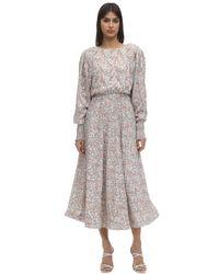 Anouki フローラルプリントドレス Multicolor