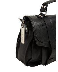 Кожаная Сумка Ps1 Medium Lux Proenza Schouler, цвет: Black