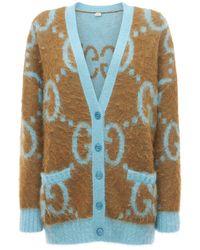 Двухсторонний Кардиган С Вышивкой Gucci, цвет: Multicolor