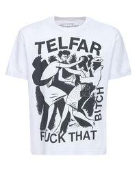 メンズ Telfar コットンtシャツ White