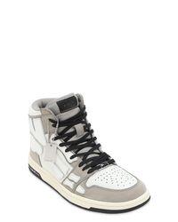 """Sneakers """"Bones"""" De Piel Amiri de hombre de color Multicolor"""