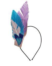 Nanà Firenze Multicolor Feather Headband