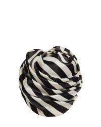Повязка На Голову С Принтом Maison Michel, цвет: Black