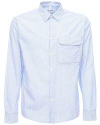 Хлопковая Рубашка С Карманом Soulland для него, цвет: Blue