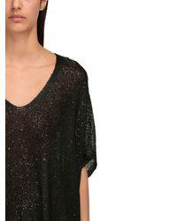 Трикотажное Платье Saint Laurent, цвет: Black