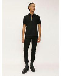 Givenchy Polohemd Aus Baumwolle Mit Farbverlauflogo in Black für Herren