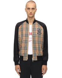 メンズ Burberry テックボンバージャケット Multicolor