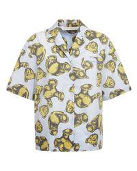 Palm Angels Bear コットンシャツ Multicolor