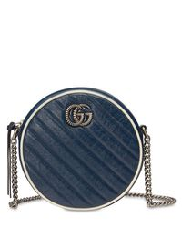 Gucci Gg Marmont サークルバッグ Blue