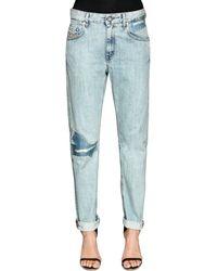 Jeans In Denim Stretch di DIESEL in Blue