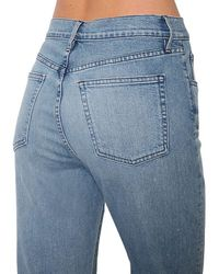 3x1 W$ クロップドデニムジーンズ Blue