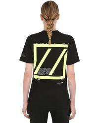 """T-Shirt """"Movement"""" In Jersey Di Cotone di Still Good in Black"""