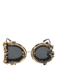 Dolce & Gabbana Multicolor Devotion Sunglasses