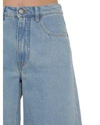 MM6 by Maison Martin Margiela Blue Jeans Aus Denim
