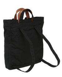 Fjallraven Black 14l Totepack N1 Nylon Backpack