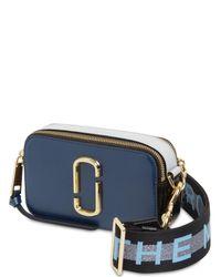 "Кожаная Сумка ""snapshot"" Marc Jacobs, цвет: Blue"