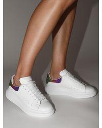"Sneakers En Cuir ""Lvr Exclusive"" 45 Mm Alexander McQueen en coloris White"