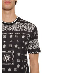 メンズ Dolce & Gabbana コットンtシャツ Black