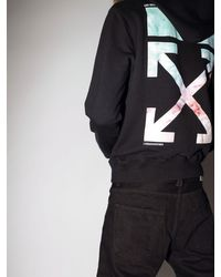 """Sweat-Shirt En Coton Imprimé """"Lvr Exclusive"""" Off-White c/o Virgil Abloh pour homme en coloris Black"""